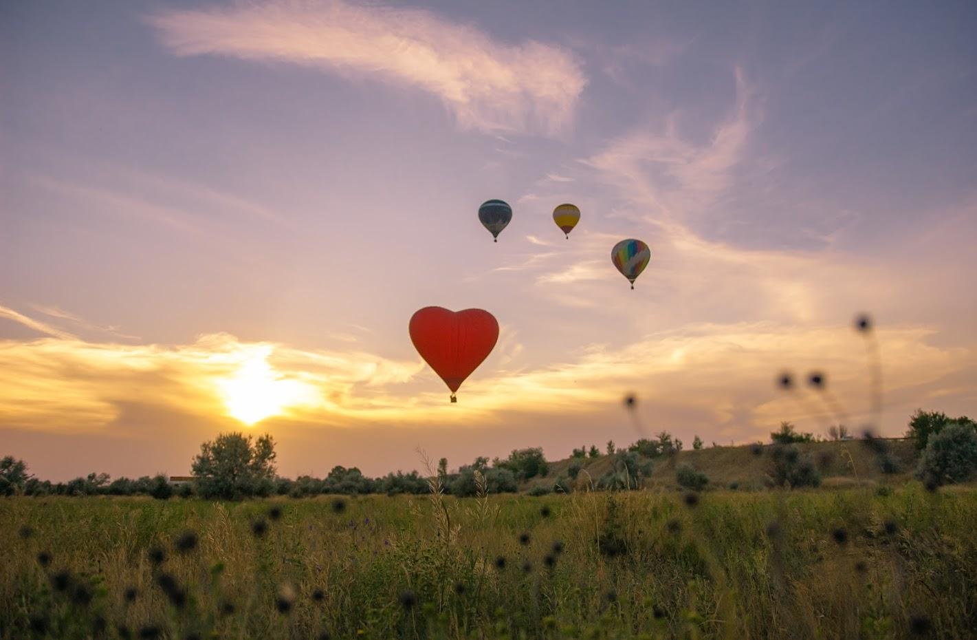О полётах на воздушном шаре