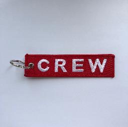 Брелок красный CREW