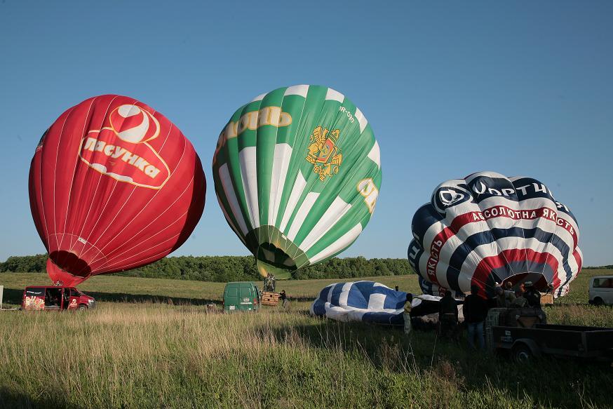 Брендированные шары. Реклама на воздушном шаре